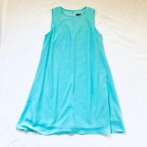 JHaus aqua sleeveless dress